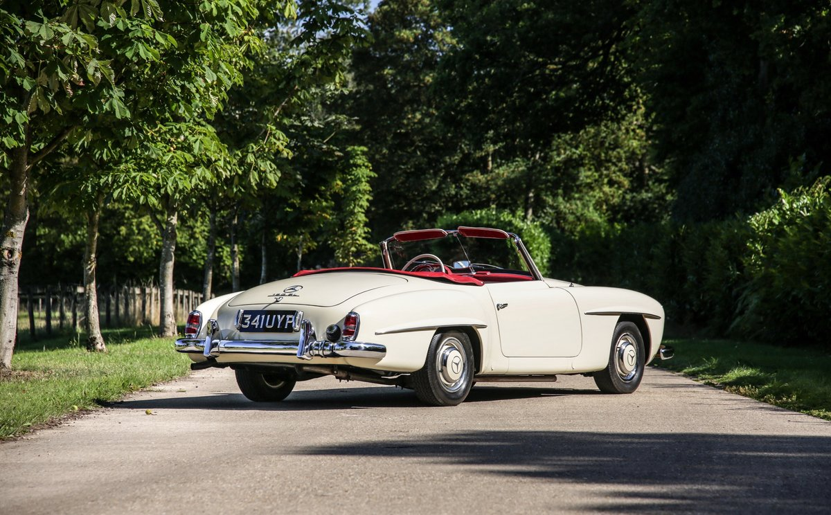 1956 Mercedes 190 SL Roadster For Sale (picture 2 of 17)
