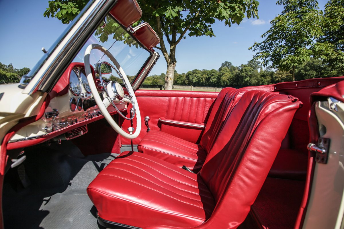 1956 Mercedes 190 SL Roadster For Sale (picture 7 of 17)