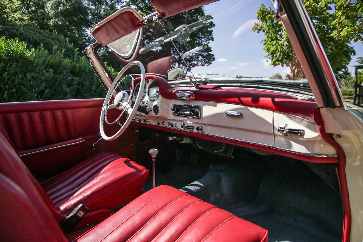 1956 Mercedes 190 SL Roadster For Sale (picture 8 of 17)