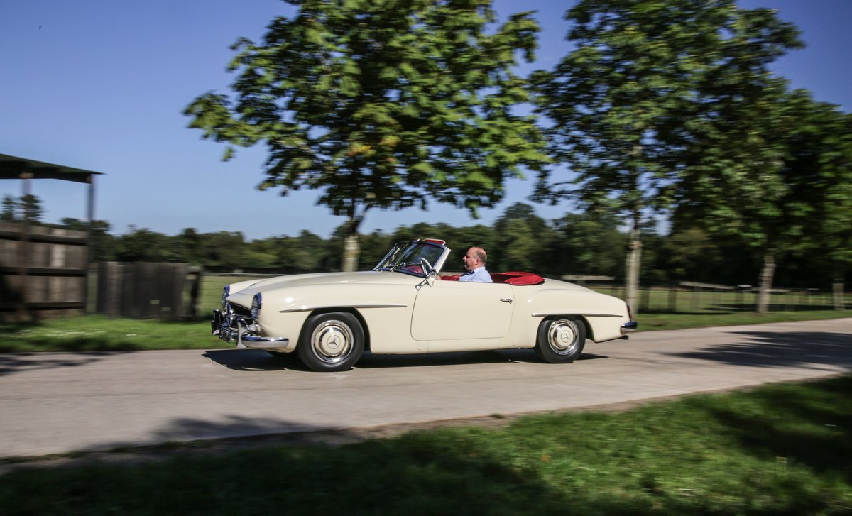 1956 Mercedes 190 SL Roadster For Sale (picture 16 of 17)