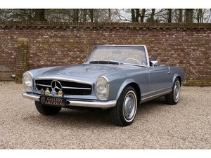 1969 Mercedes-Benz 280 SL Pagode W113 Extensive history file, Mat For Sale