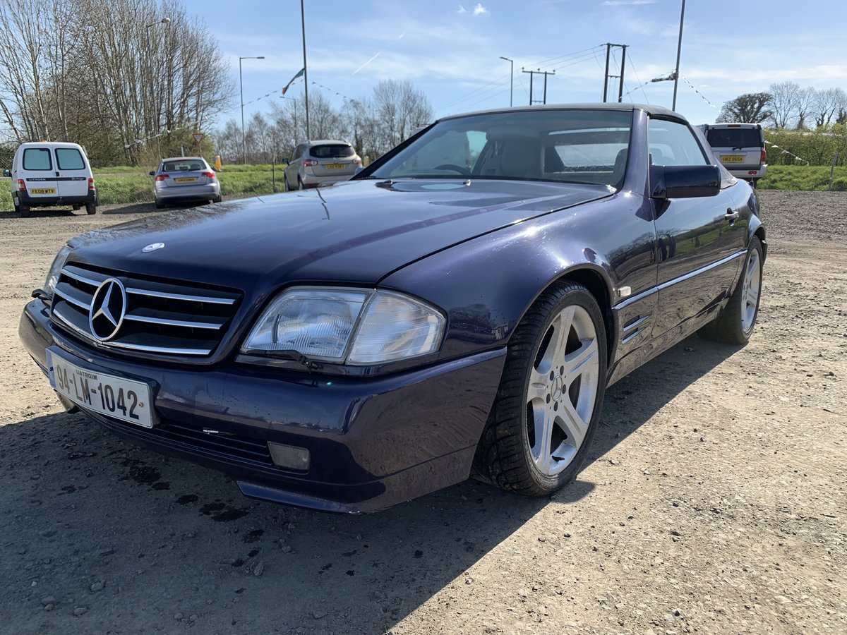 1994 SL500 85000 miles .Exceptional condition For Sale (picture 1 of 6)