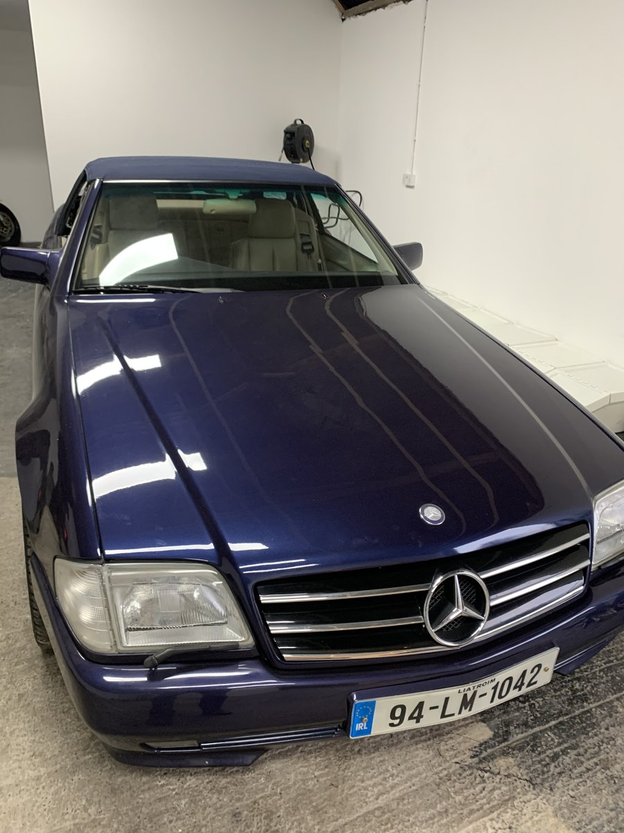 1994 SL500 85000 miles .Exceptional condition For Sale (picture 2 of 6)
