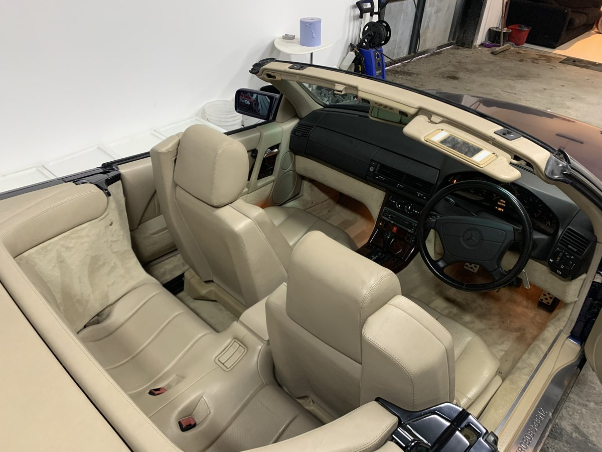 1994 SL500 85000 miles .Exceptional condition For Sale (picture 3 of 6)
