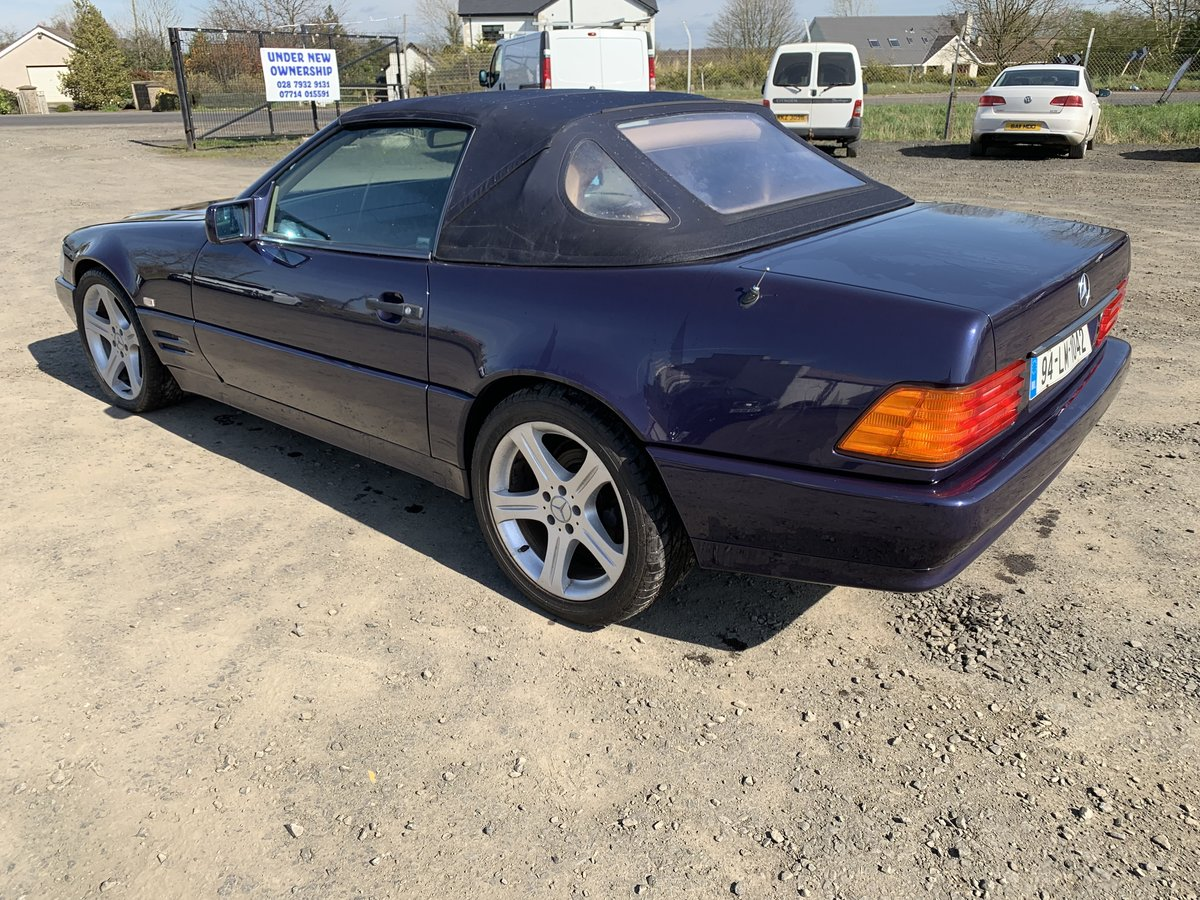 1994 SL500 85000 miles .Exceptional condition For Sale (picture 5 of 6)