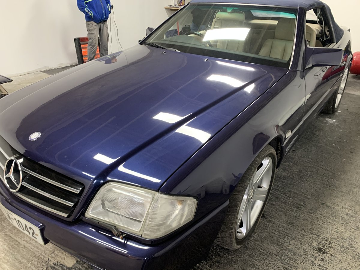 1994 SL500 85000 miles .Exceptional condition For Sale (picture 6 of 6)