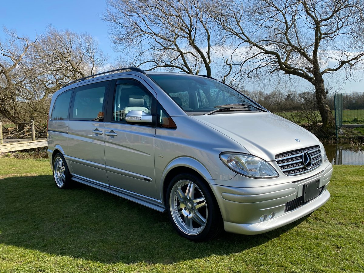 2004 MERCEDES VIANO V320 3.2 BRABUS BODYKIT AMBIENTE AUTO * For Sale (picture 1 of 6)