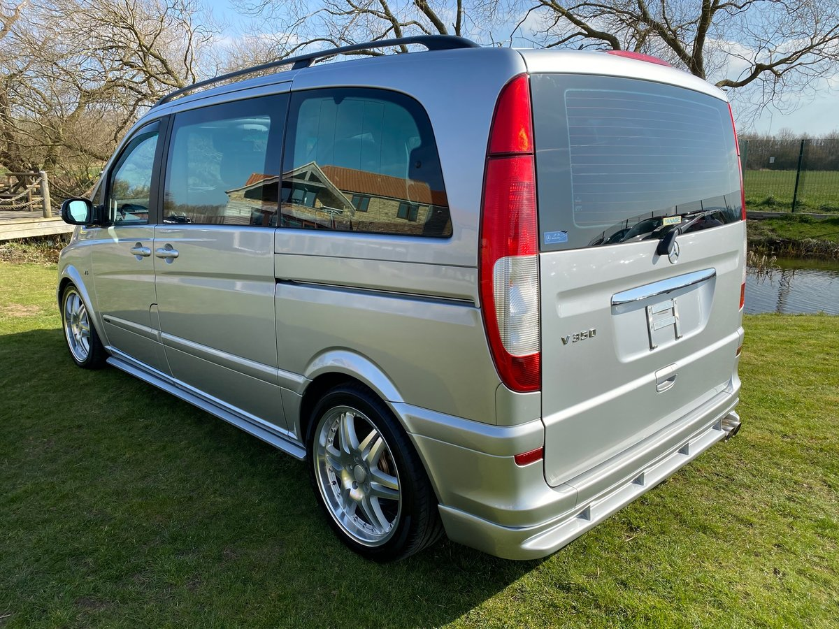 2004 MERCEDES VIANO V320 3.2 BRABUS BODYKIT AMBIENTE AUTO * For Sale (picture 2 of 6)