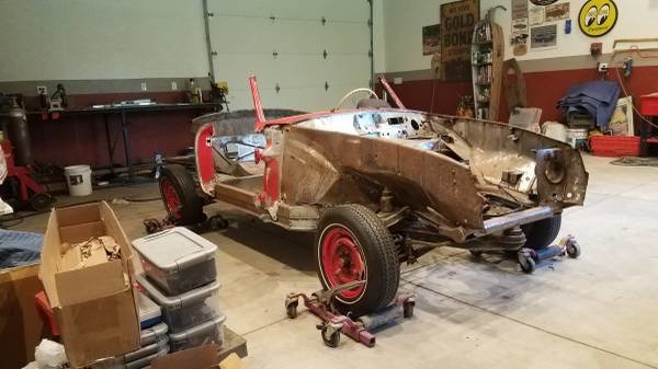1956 Mercedes 190SL Roller Project U finish + w parts $31k For Sale (picture 1 of 6)