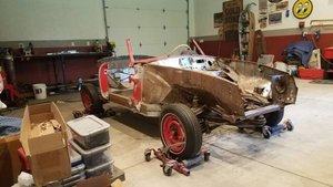 1956 Mercedes 190SL Roller Project U finish + w parts $31k