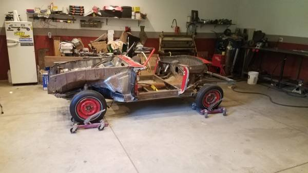 1956 Mercedes 190SL Roller Project U finish + w parts $31k For Sale (picture 2 of 6)