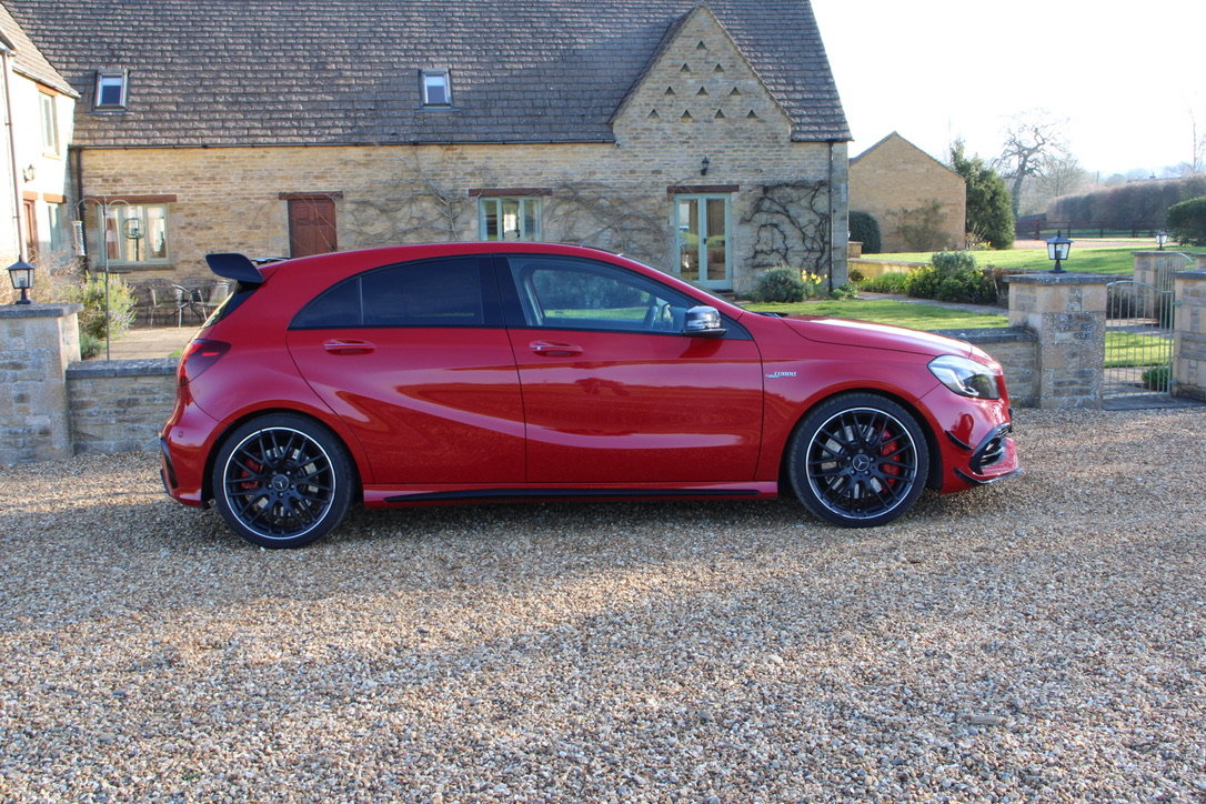 2016 MERCEDES A45 AMG PREMIUM 4WD - 25,000 MILES - £26,950 For Sale (picture 2 of 19)