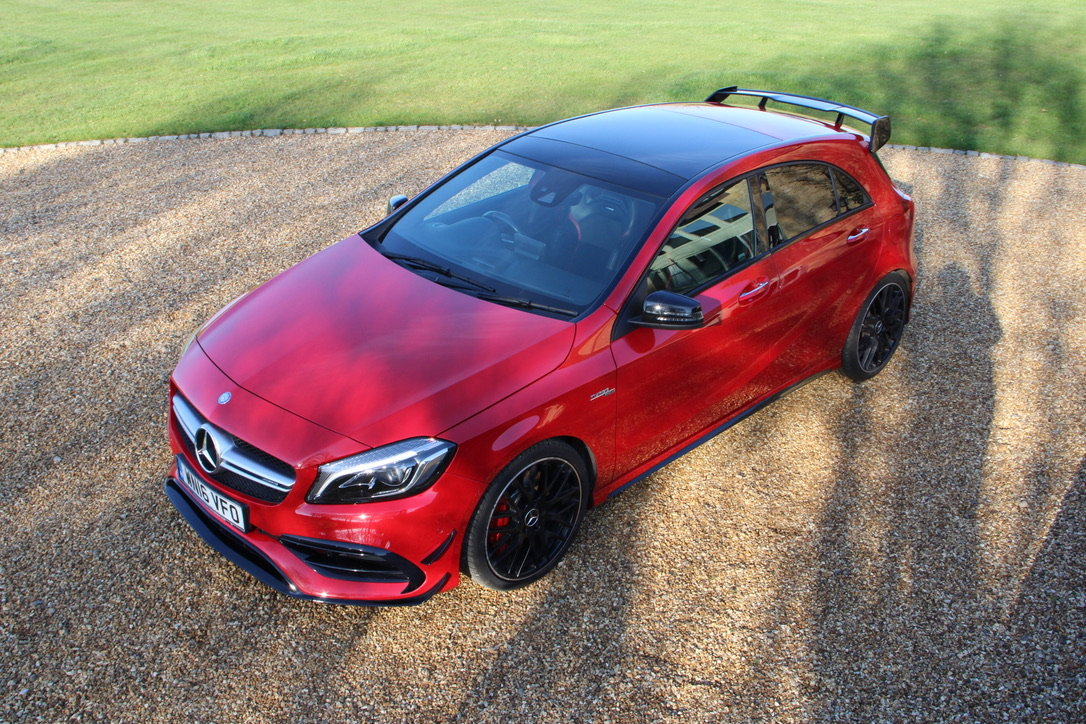 2016 MERCEDES A45 AMG PREMIUM 4WD - 25,000 MILES - £26,950 For Sale (picture 4 of 19)