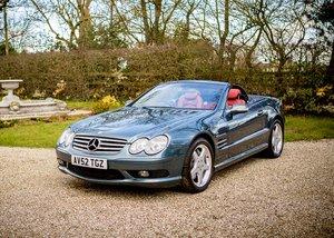 2002 Mercedes-Benz SL55 AMG Kompresser SOLD