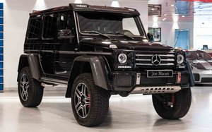 2018 Mercedes G500 4x4 Squared For Sale
