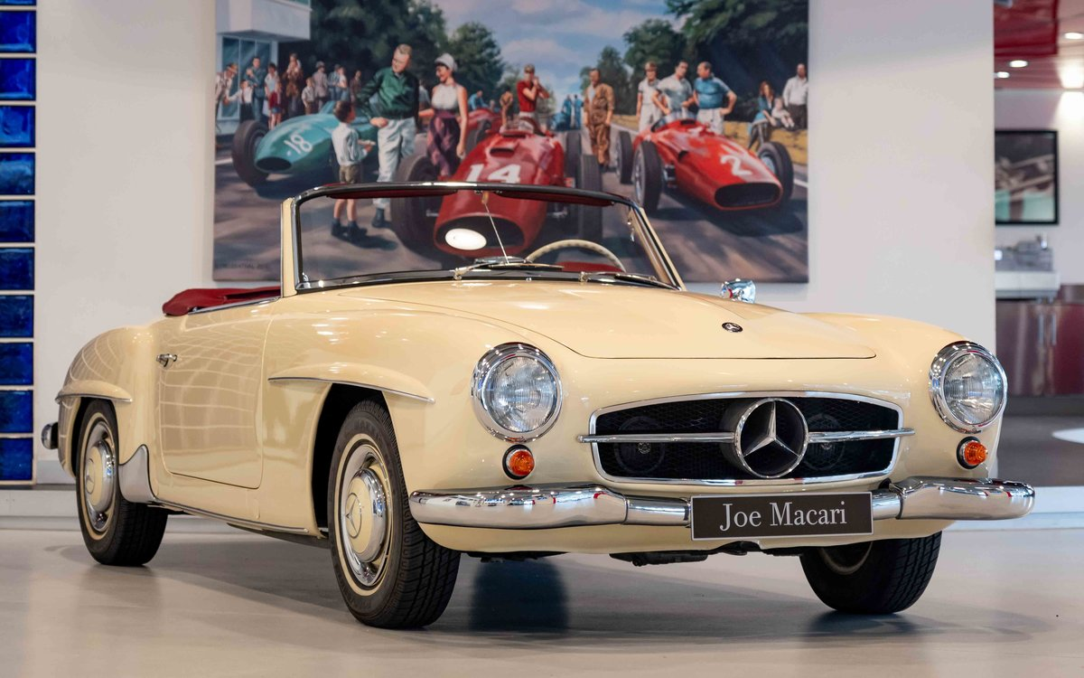 1956 Mercedes-Benz 190SL For Sale (picture 1 of 17)