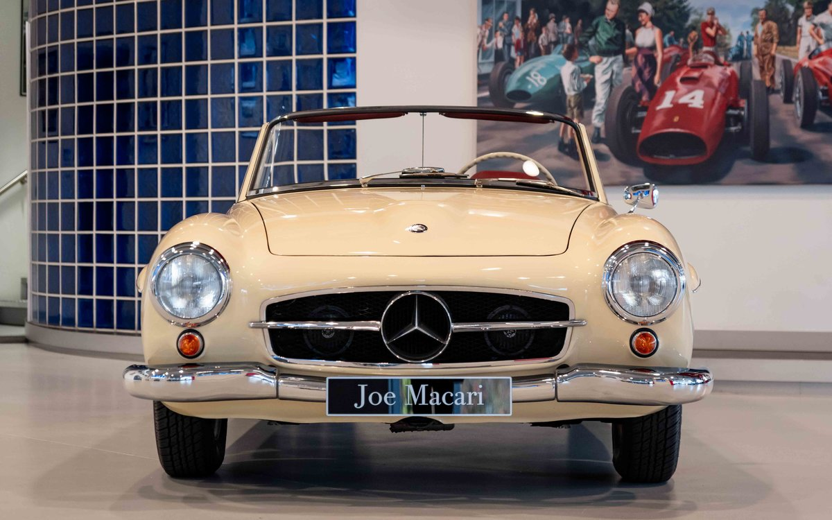 1956 Mercedes-Benz 190SL For Sale (picture 2 of 17)