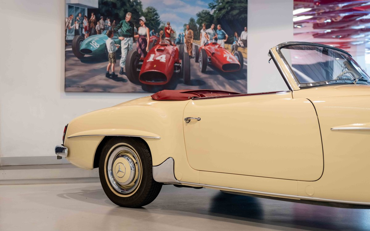 1956 Mercedes-Benz 190SL For Sale (picture 3 of 17)