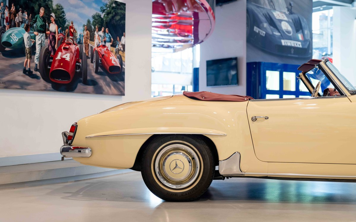 1956 Mercedes-Benz 190SL For Sale (picture 4 of 17)