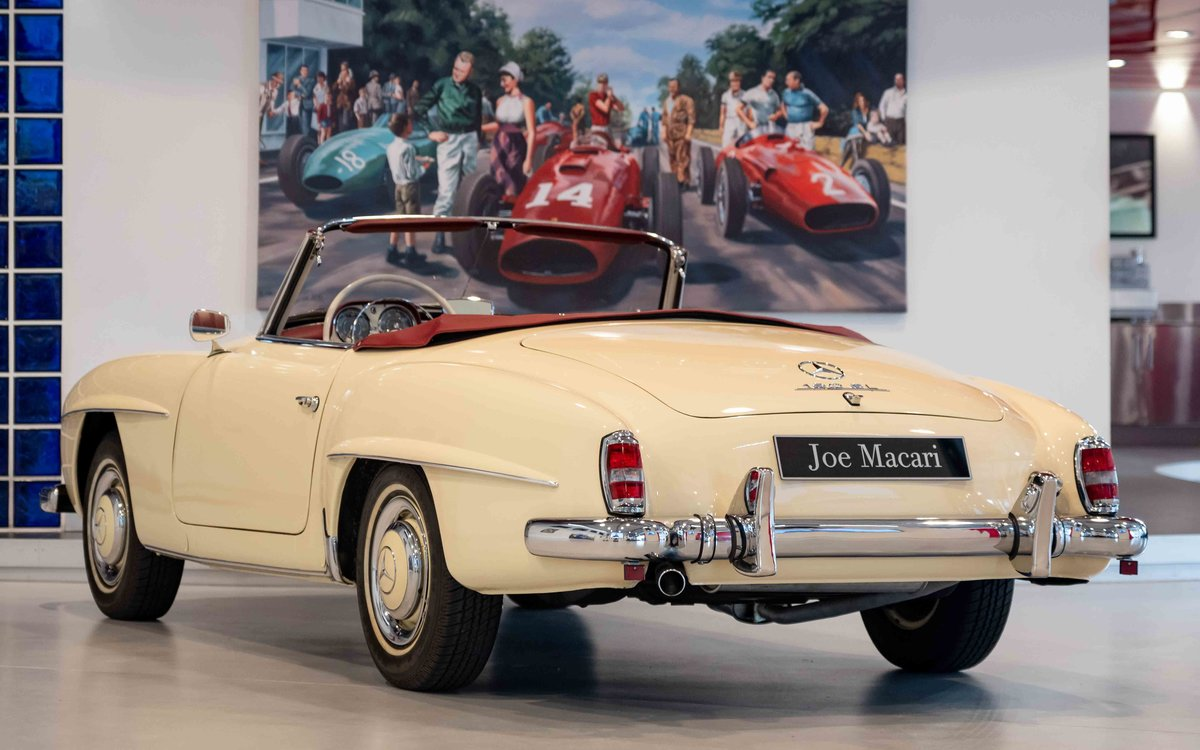 1956 Mercedes-Benz 190SL For Sale (picture 7 of 17)