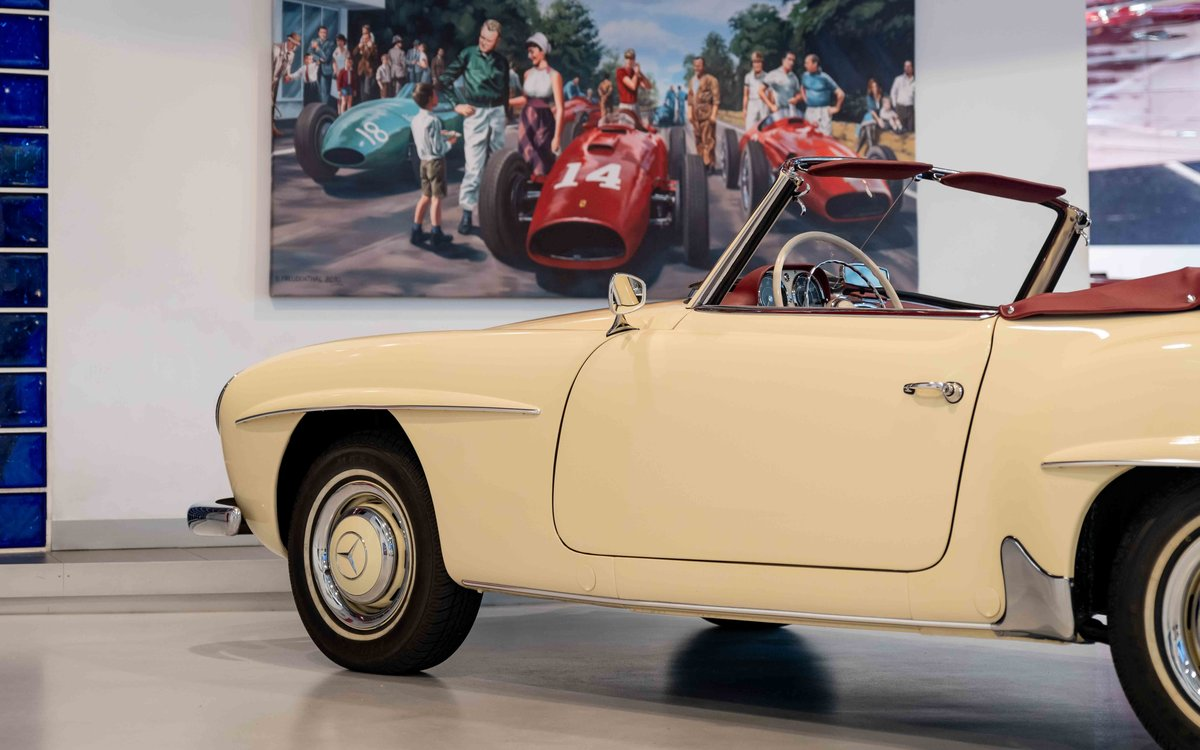 1956 Mercedes-Benz 190SL For Sale (picture 8 of 17)