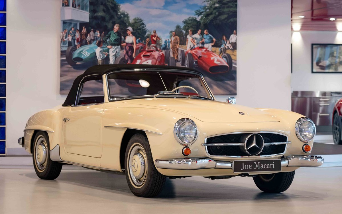 1956 Mercedes-Benz 190SL For Sale (picture 9 of 17)