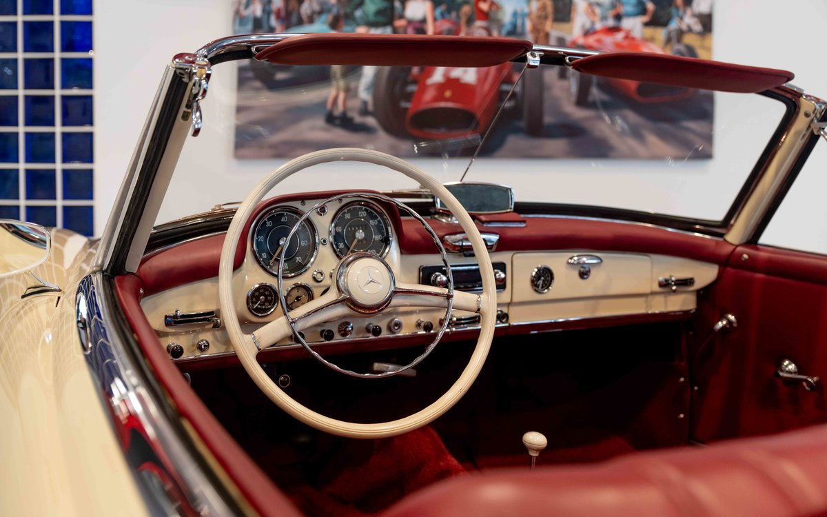 1956 Mercedes-Benz 190SL For Sale (picture 12 of 17)