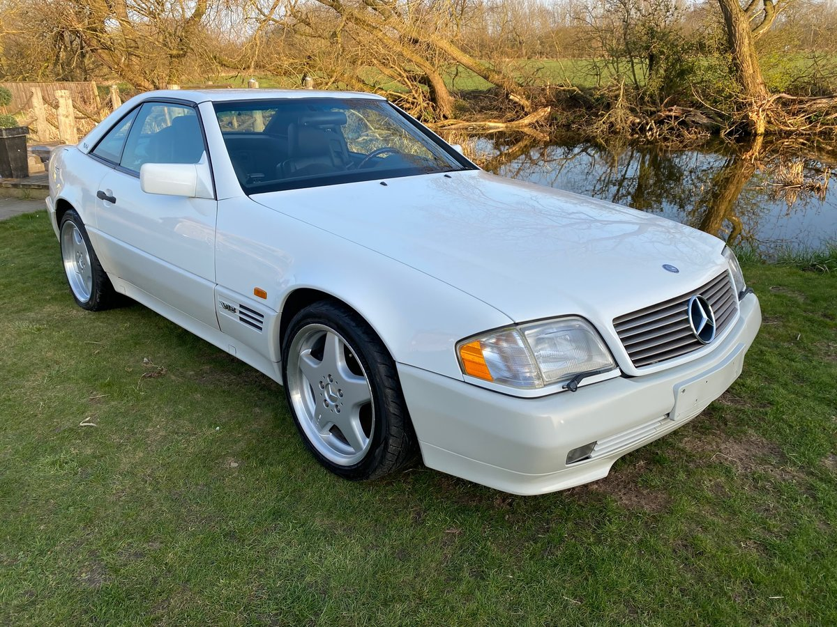 1996 MERCEDES-BENZ SL IMPORT FUTURE CLASSIC MERCEDES SL600 V12  For Sale (picture 2 of 6)