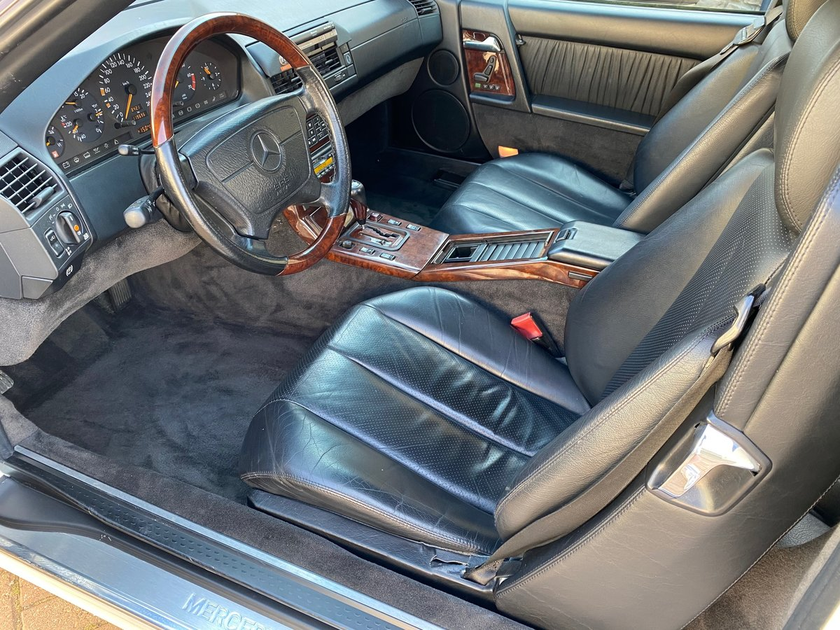 1996 MERCEDES-BENZ SL IMPORT FUTURE CLASSIC MERCEDES SL600 V12  For Sale (picture 4 of 6)
