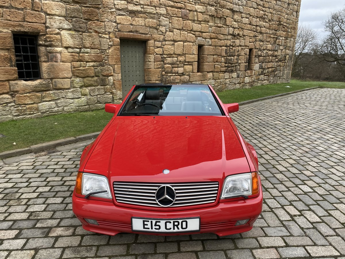 1993 SL Class 2 owner only 30000miles For Sale (picture 2 of 6)