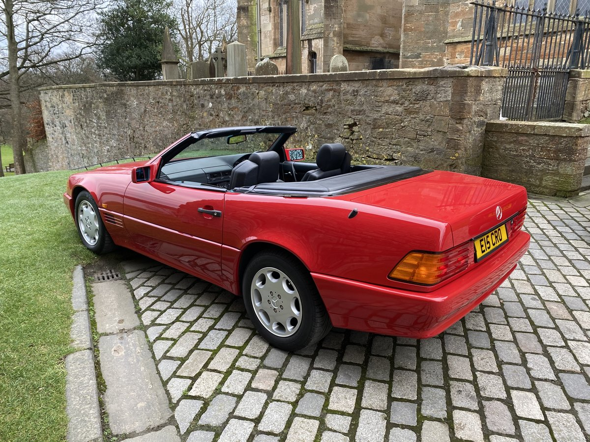 1993 SL Class 2 owner only 30000miles For Sale (picture 3 of 6)