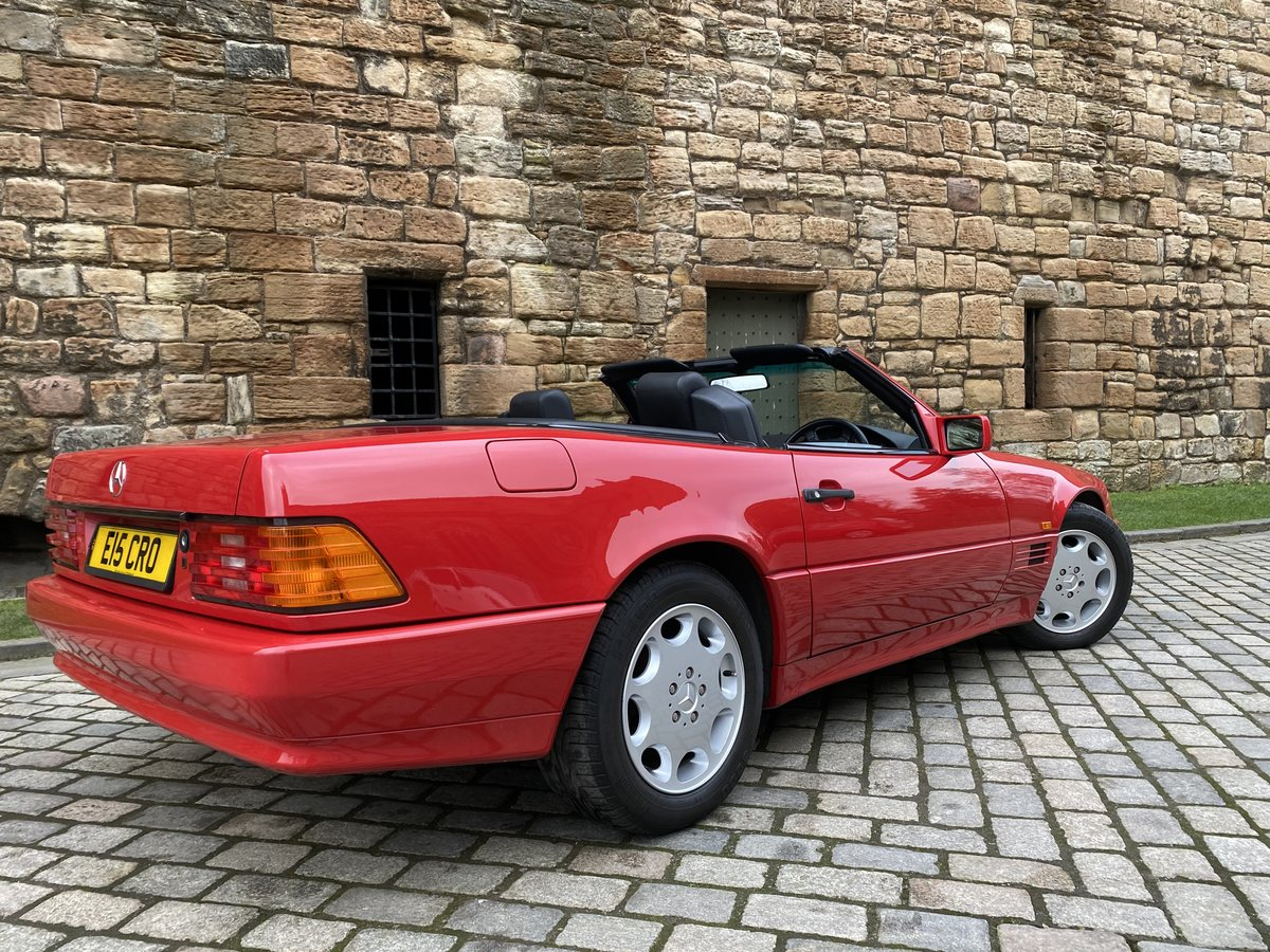 1993 SL Class 2 owner only 30000miles For Sale (picture 4 of 6)