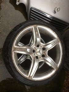 1997 8x Alloy Wheels