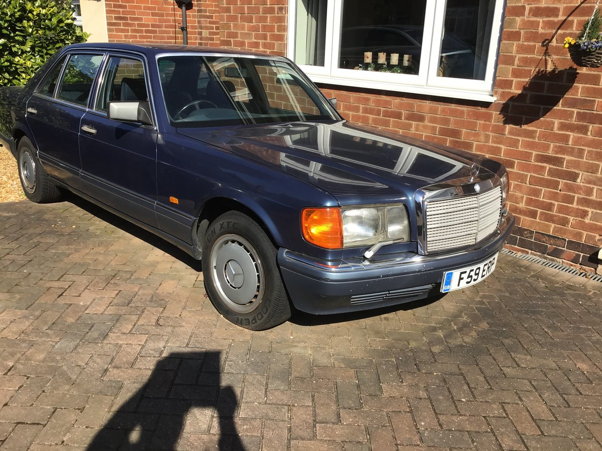 1988 Mercedes 126 -4dr saloon--90k miles SOLD (picture 1 of 1)