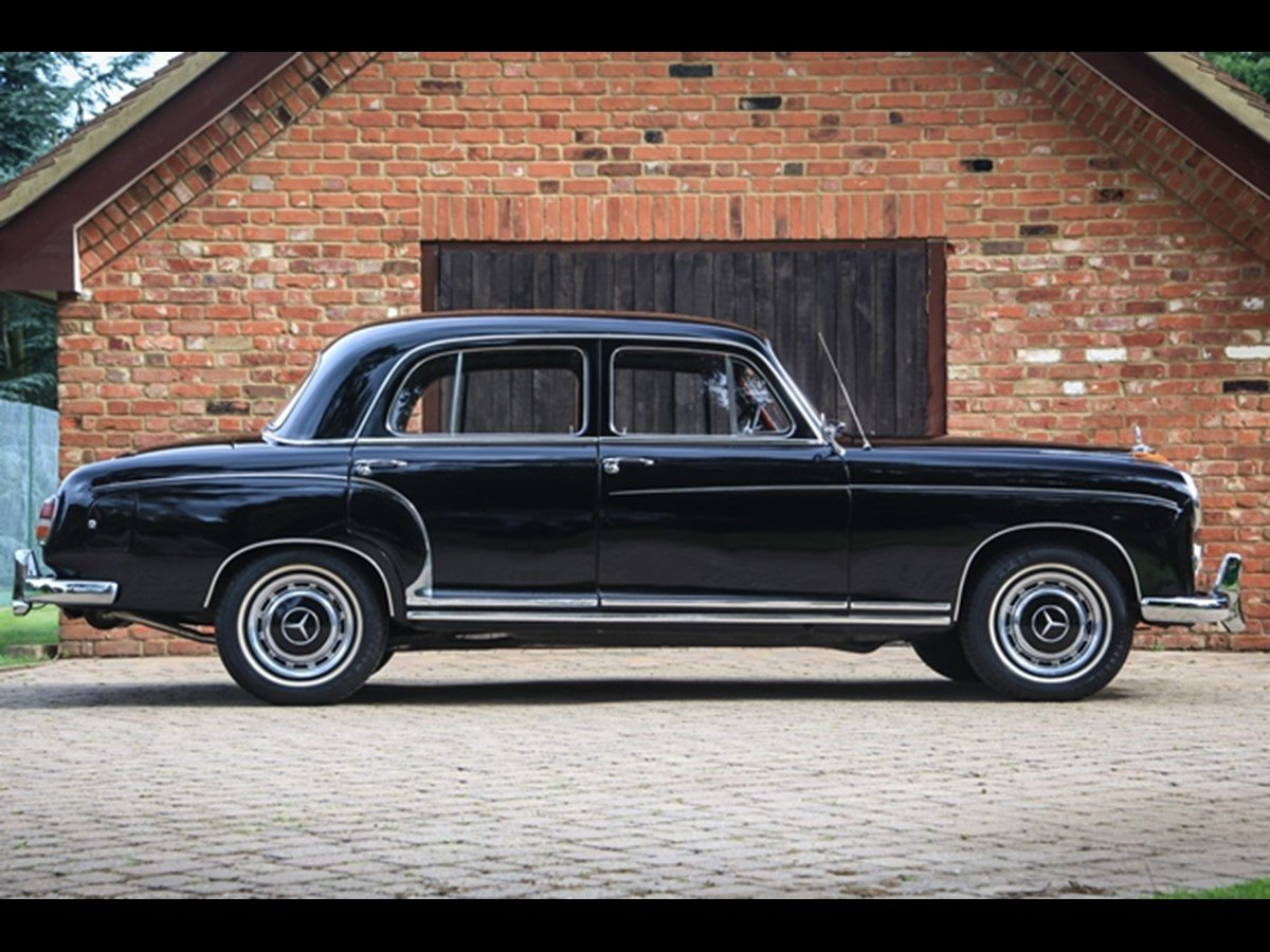 1959 Mercedes Benz 220S 'Ponton' W180 For Sale (picture 2 of 6)