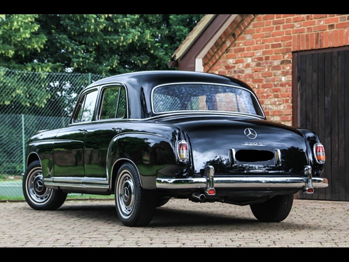 1959 Mercedes Benz 220S 'Ponton' W180 For Sale (picture 3 of 6)