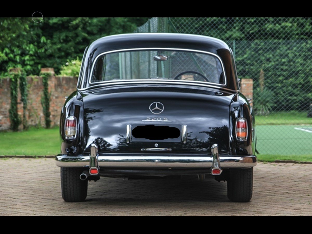 1959 Mercedes Benz 220S 'Ponton' W180 For Sale (picture 4 of 6)