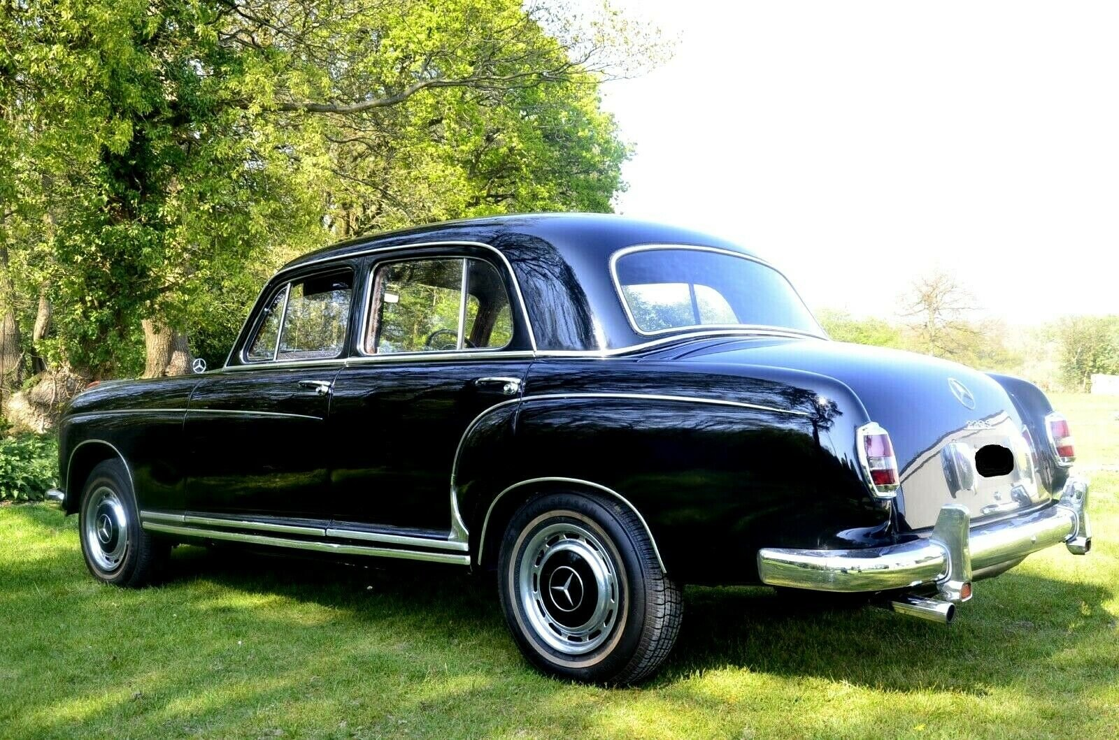 1959 Mercedes Benz 220S 'Ponton' W180 For Sale (picture 6 of 6)
