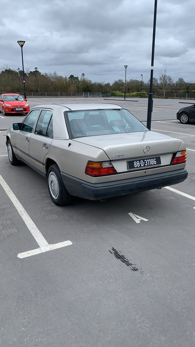1989 Mercedes For Sale W124 230e For Sale (picture 1 of 6)