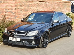 2008 MERCEDES C63 AMG 6.3 V8 AUTO SALOON - 510 BHP - X PIPES -