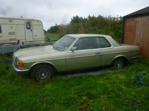 1981 Mercedes c123 280ce project For Sale