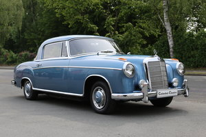 """1958  Mercedes 220 SE Coupe W128 """"Ponton"""" with rare sunroof SOLD"""