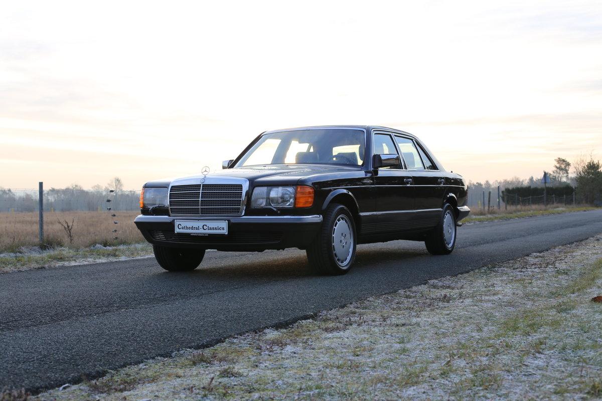 1982 vollstaendige Spezifikation eines Mercedes Benz W126 500 SEL For Sale (picture 1 of 6)