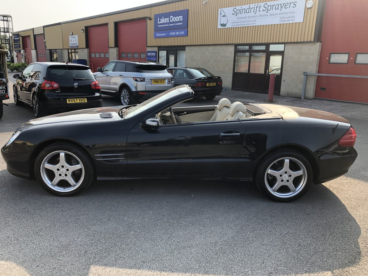 2004 Mercedes SL 350 2dr Convertible 3.7 V6 ONLY 64800 MILES For Sale (picture 5 of 6)