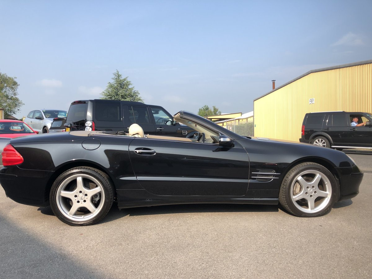 2004 Mercedes SL 350 2dr Convertible 3.7 V6 ONLY 64800 MILES For Sale (picture 6 of 6)