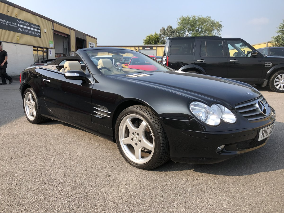 2004 Mercedes SL 350 2dr Convertible 3.7 V6 ONLY 64800 MILES For Sale (picture 1 of 6)