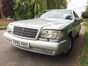 1998 S320 W140 FSH Excellent Condition