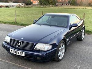 2000 Mercedes sl320 v6 1 of 50 designo edition (r129)