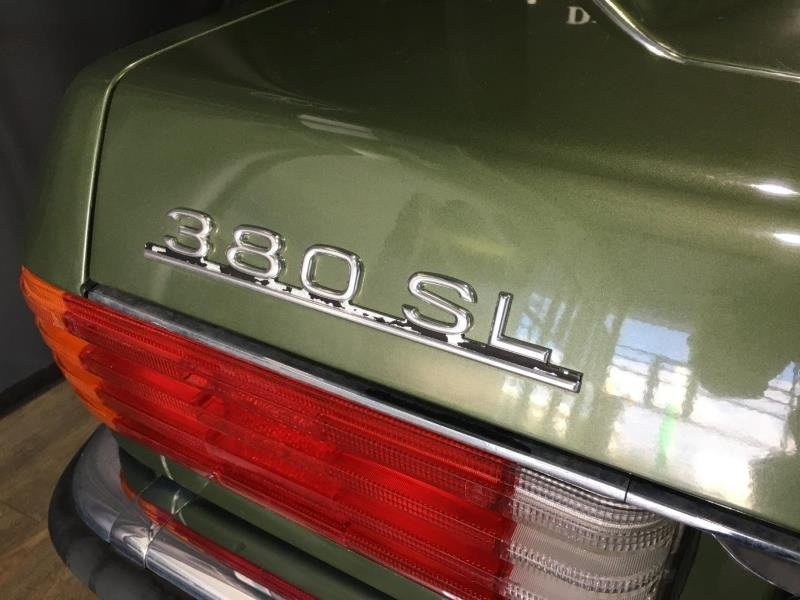 1984 Mercedes 380SL Roadster Auto RHD 24k Miles For Sale (picture 3 of 6)