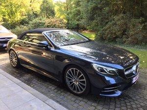 2019 Mercedes S560 cabrio For Sale